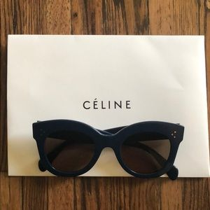 Celine 41443 Navy Sunglasses